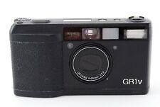 Ricoh GR1v Point & Shoot 35mm Film Camera Black Excellent+ Film Tested MIJ #5223