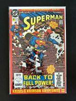 SUPERMAN #50 DC COMICS 1990 NM+