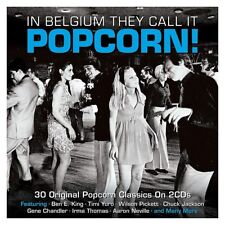 IN BELGIUM THEY CALL IT POPCORN!-30 Original Classics-VARIOUS ARTISTS (NEW  2CD)