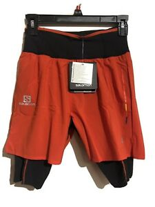 Salomon S-Lab Exo TW Short Small Racing Red