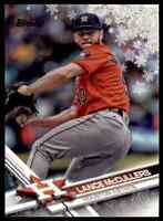 2017 TOPPS HOLIDAY SNOWFLAKES LANCE MCCULLERS HOUSTON ASTROS #HMW153