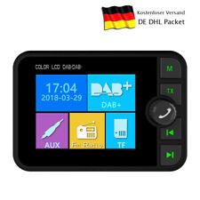 """2,4"""" Bluetooth Digital LCD In Car DAB DAB+ Radio Player Adapter FM Transmitter"""