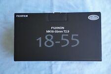 Fujinon MK 18-55 mm T2.9 Cine zoom lens (Sony E-Mount)