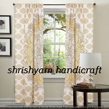Indian Mandala Door Curtain Cotton Hippie Tapestry Decor Window Curtain Wall Art