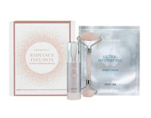 SkinMedica Radiance Infustion Kit ~ Ha5, Hydration Masks & Quarts Roller. SEALED