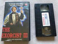 Exorcist 3 - Possession - 1975 - Pre-Cert - Pal - Horror - Richard Conte - VHS
