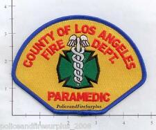 California - Los Angeles County Paramedic CA Fire Dept Patch