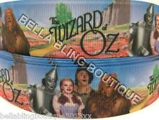 2 M WIZARD OF OZ 25MM GROSGRAIN RIBBON COLLAR BOW BIRTHDAY BOY  GIRL CAKE CARD