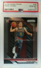 2018-19 Panini Prizm Trae Young Rookie RC #78, Graded PSA 10 Gem Mint, Hawks
