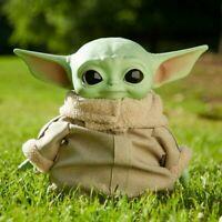 "NEW Stars Wars Grogu The Child Mandalorian Baby Yoda Plush Doll 11""  Toy figure"