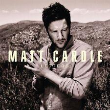 Matt Cardle (X Factor) - Letters Promo Album (CD 2011) Collectable CD