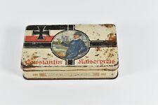 Ww1 Dresden Germany Navy Cigarette Tin Constantin Kaiserpreis Cigaretten No 55