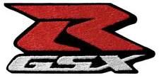 Suzuki GSXR Embroidered Jacket patch Red & White