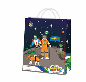 SPACE CHILDRENS ACTIVITY PACKS - KIDS BIRTHDAY PARTY OR EVENT BAGS (Qty: 100)