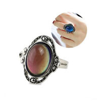 Kids Adult Temperature Color Changing Mood Ring Fashion Jewelry Exquisite Chic