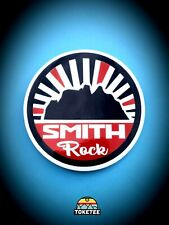 "3.5"" Smith Rock State Park Sticker. Central Oregon Decal. Blue, white, red. Pnw."