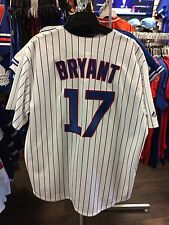 Chicago Cubs Kris Bryant MLB Baseball Home Pinstripe Jersey Replica X-Large NWT