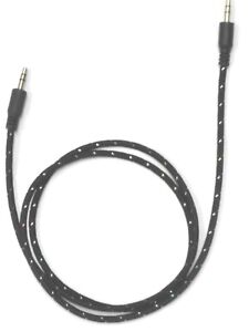 Aux braided Cable Audio Lead 3.5mm Jack to Jack