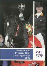 FEI WORLD CUP DRESSAGE FINAL s'HERTOGENBOSCH 2008 DVD