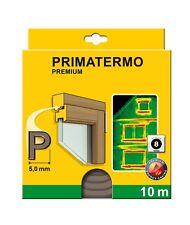 Schellenberg 66333 Dichtung Premium P 9x4mm 10m braun Dichtung Tür Fenster NEU