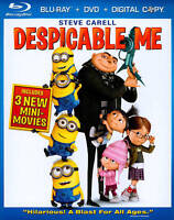 Despicable Me (Blu-ray) DISC ONLY NO CASE NO ART UNUSED CONDITION SHIPS FAST