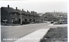 New Estate Melbourne Avenue Winshill Burton-on-Trent unused RP old postcard