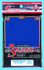 80 KMC SUPER BLUE Standard Size Card Barrier Sleeves NEW MTG Full Deck Protector