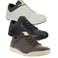 Ecco Golf Mens Street Retro Hydromax Leather Spikeless Golf Shoes
