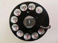 Antique telephone Western Electric  dial calibrated