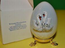 1998 Goebel Hummel 21st Annual Egg Swan Family New in Box