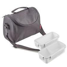 Bolsa porta-alimentos SUPREME soft. Interior térmico frío/calor. Asa superior.