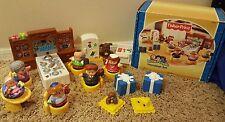 Rare HTF Fisher Price 2003 Little People HANUKKAH Holiday CHRISTMAS Set LOT Box