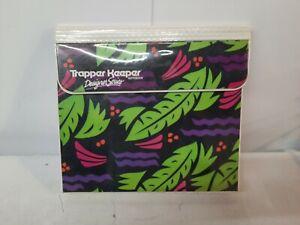 Vintage 1980's Mead TRAPPER KEEPER Designer Series 3 Ring Binder RARE DESIGN