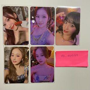 Taste of Love Mini Album Official Photocard Twice Tzuyu Sana Momo