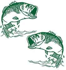 """JUMPING COD"" FISHING BOAT MARINE GRAPHICS DECAL STICKER KIT - Cast Vinyl"