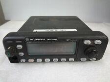 Motorola Mcs 2000 Flashport M01hx822w 800mhz Two Way Radio