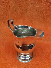 More details for georgian antique sterling silver hallmarked milk jug 1766, london, 18th century