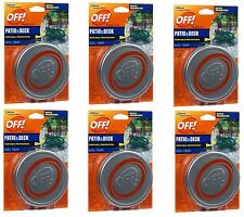 6 Off Patio Deck Outdoor Mosquito Repellent Portable Protection 3 Pot 3Coil 4 Hr