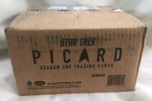 Star Trek Picard Season 1 Trading Cards Sealed 12 Box Case, 24 Autographs
