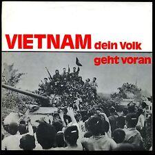 Vietnam-- dein Volk geht voran - Single - Indochina Komitee Heidelberg--