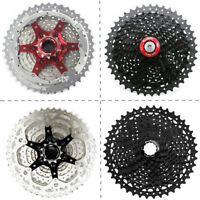 SunRace 10Speed 11-40/42/46T MTB Bike Cassette Narrow Wide Flywheel CSMS3/CSMX3