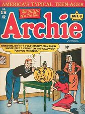 Archie Halloween Comic  High Quality Metal Magnet 3 x 4 inches 9209