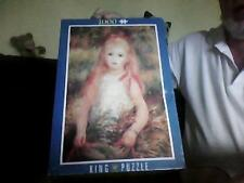 1000 Piece Jigsaw The Young Girl by Renoir King Puzzle