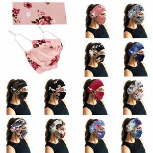 2PCS/SET Women Headband Milk Silk Tie Dye Printed Yoga Sport Elastic Hairband