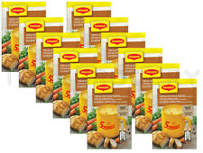 12 x MAGGI Instant Soup Packs Chicken with Croutons Flavor