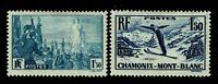 France SC# 321 and 322, Mint Hinged, Hinge Remnant - S11022