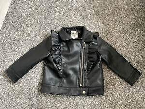 9-12month Leather Jacket Girls