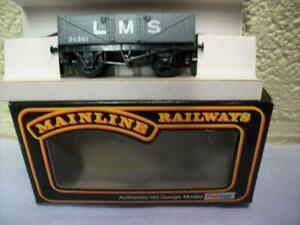 5-Plank Open Wagon 24361 'LMS' Mainline No 37-130 '00' Boxed Looks Unused