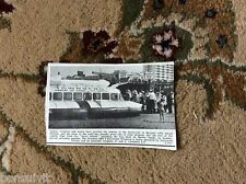 k2-3  ephemera 1966 picture first hovercraft at margate srn 6