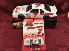 ALAN KULWICKI #7 Ford Thunderbird AK Racing 1991 1/24 Bank 1/64 Car Diecast SET